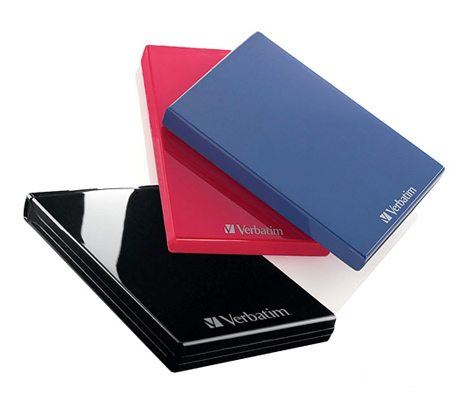 Verbatim external hard drives
