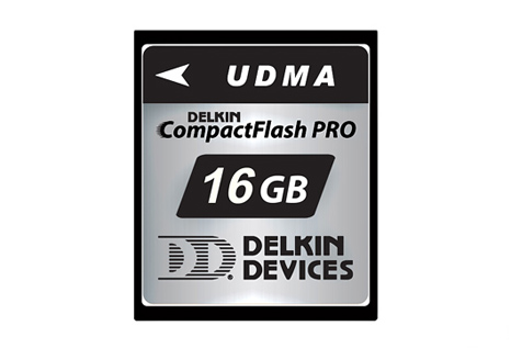 Delkin CompactFlash cards