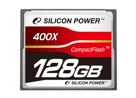 128GB CompactFlash card
